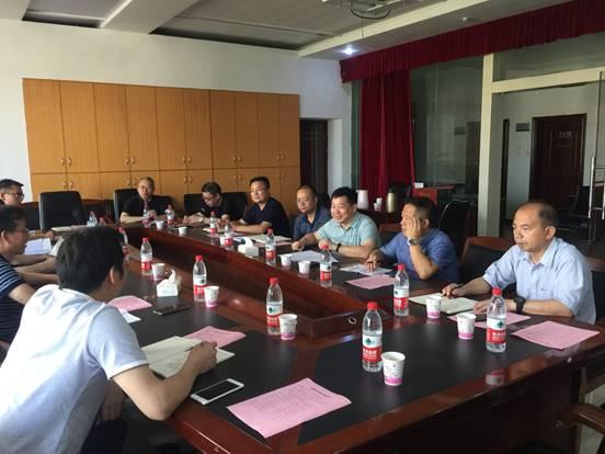 湖南科技学院来我校学习调研审核评估工作